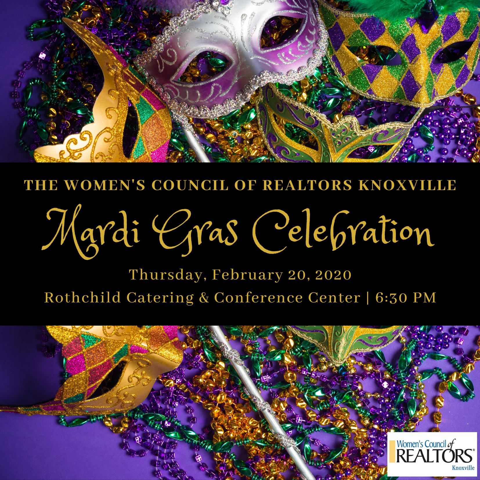 Women's Council of REALTORS Knoxville Mardi Gras C