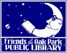 Friends of the Oak Park Public Library logo