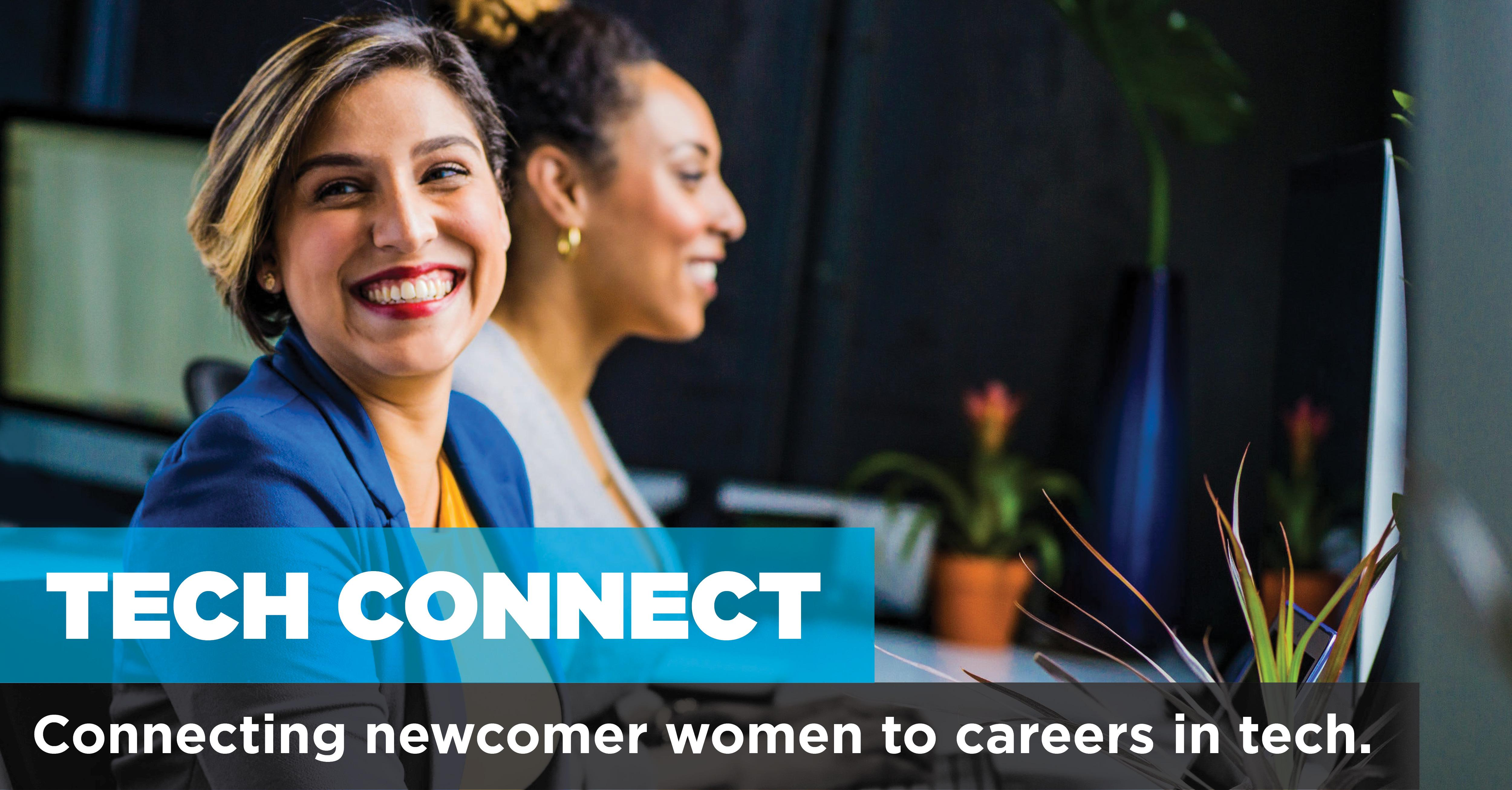 YWCA Tech Connect Info Session | FREE Program for Newcomer Women in Tech