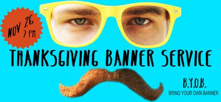 Thanksgiving Banner Service