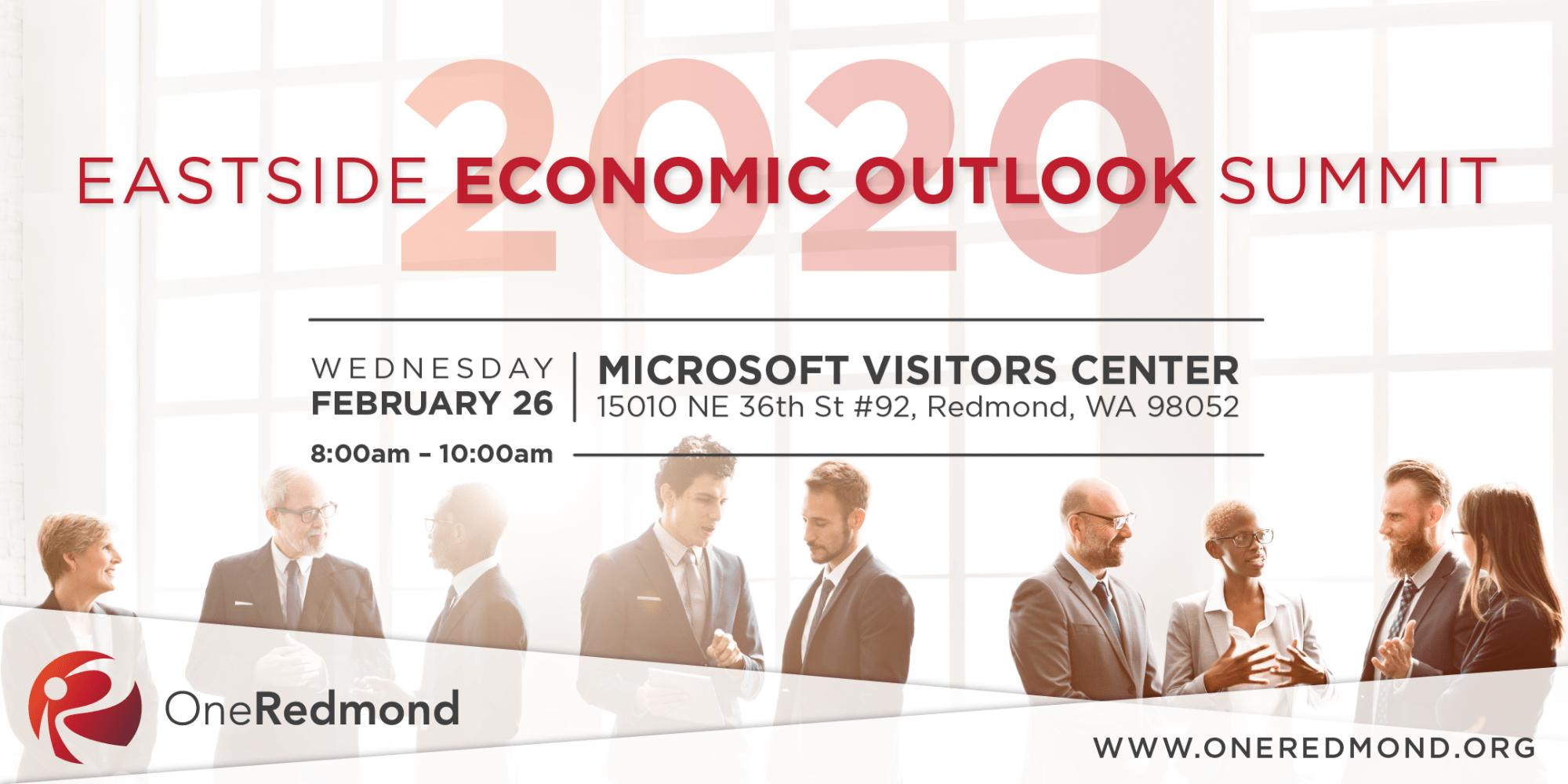 OneRedmond Eastside Economic Outlook Summit