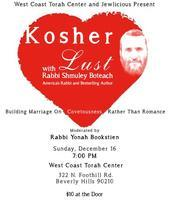 Kosher Lust w/ Shmuley Boteach and Rabbi Yonah