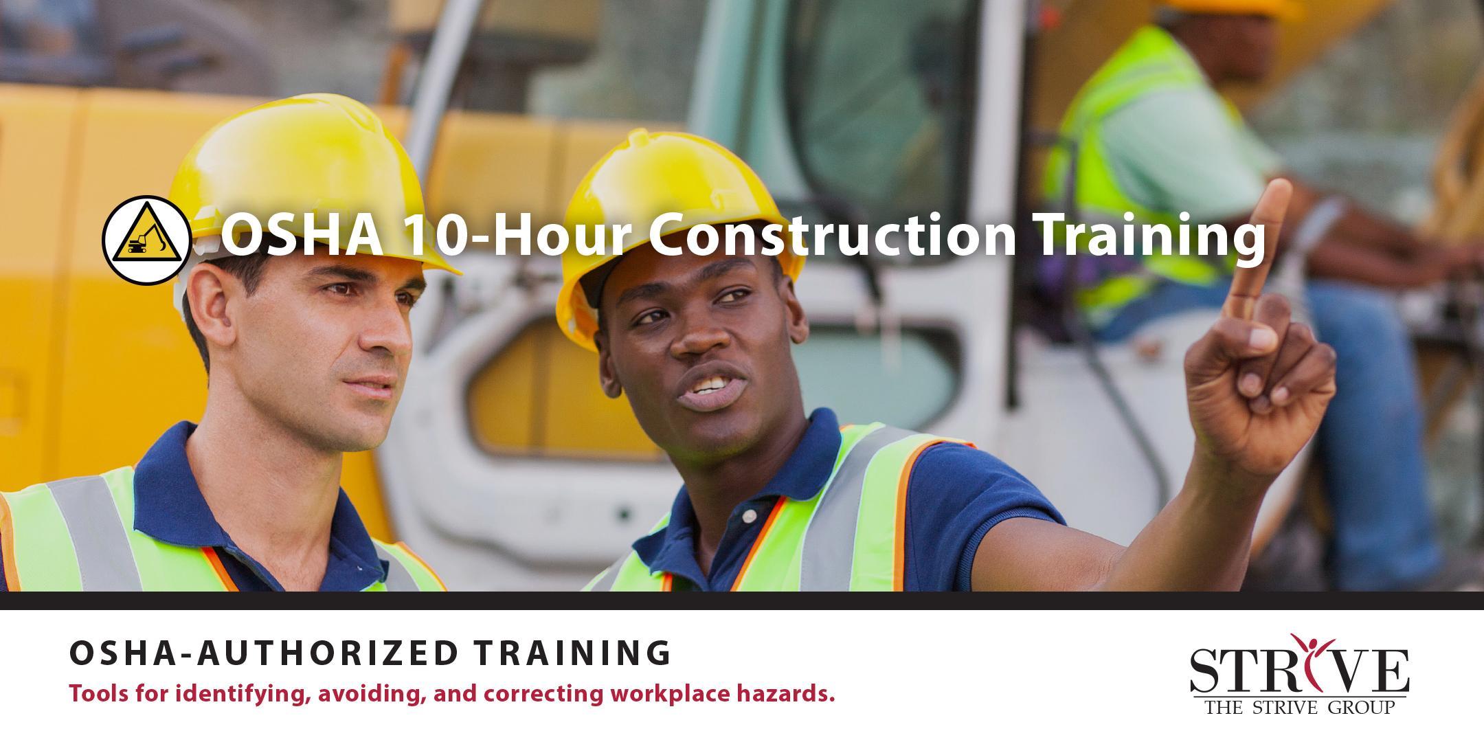 OSHA 10 - Hour Construction Training
