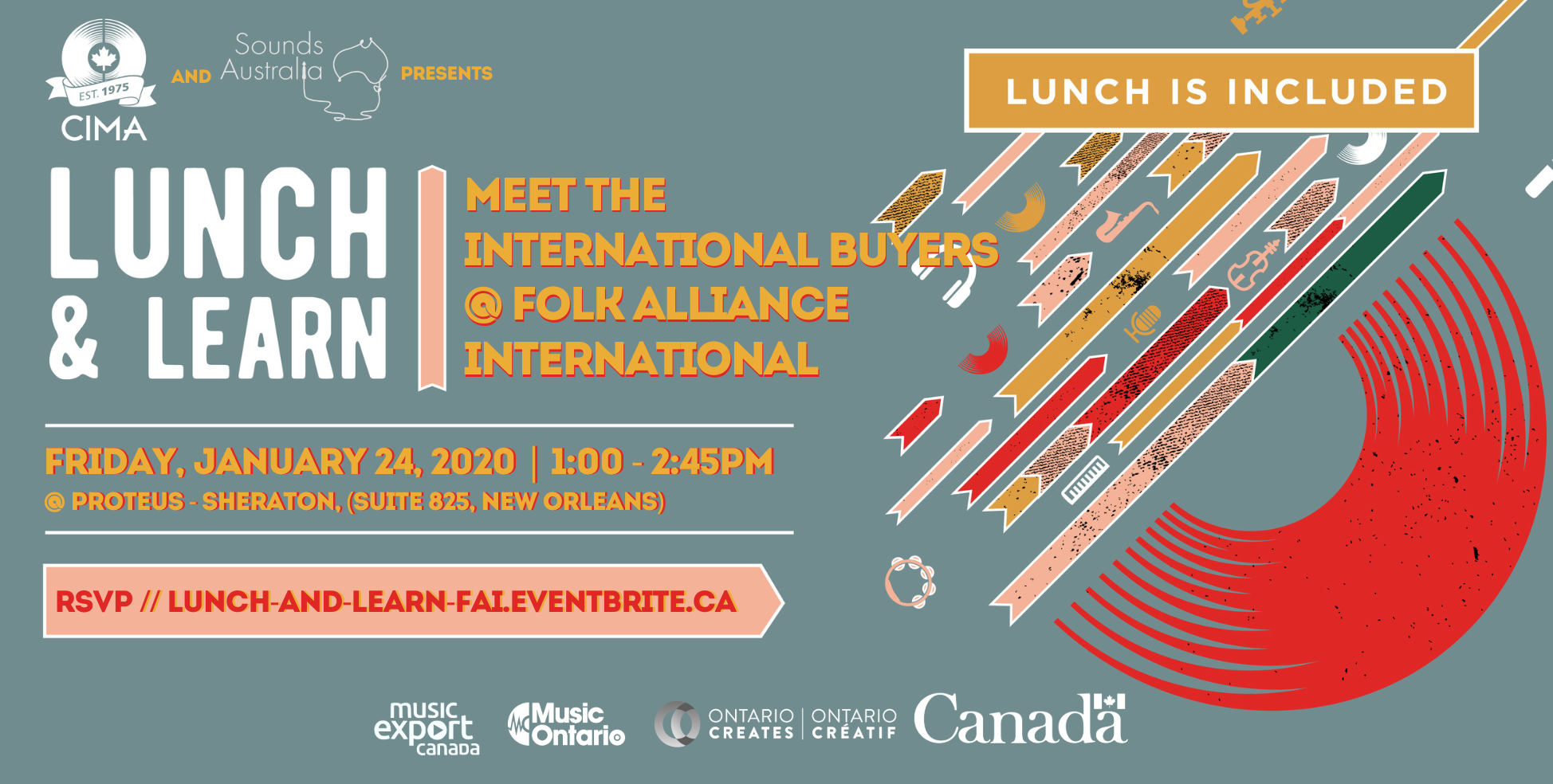 Lunch & Learn 02: Meet the International Buyers @ Folk Alliance International