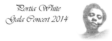 Portia White Gala Concert 2014