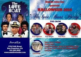 Halloween 2014 at Amelie Wine Bar! The Love Boat Party!