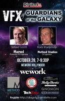 Digital LA - VFX of the Guardians of the Galaxy panel