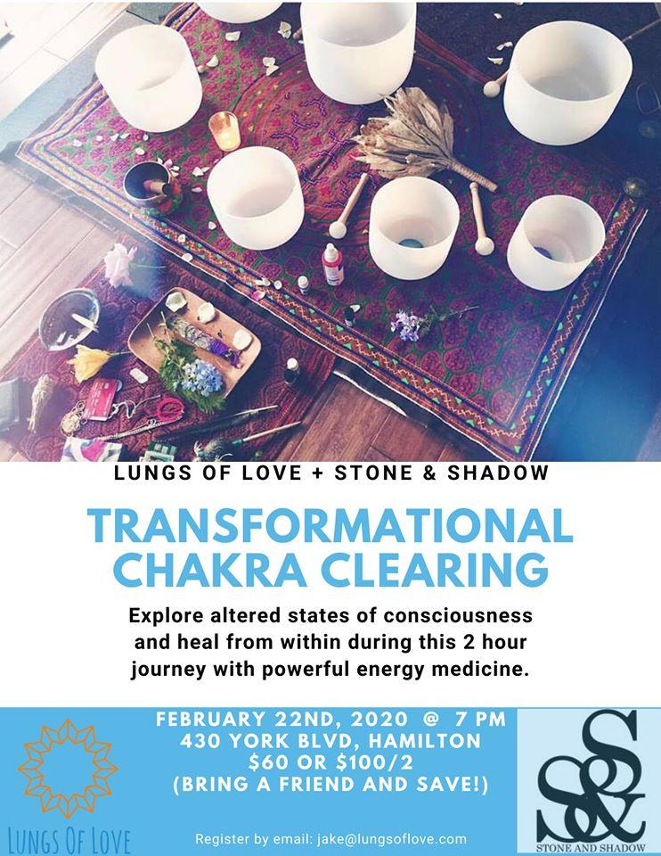 Transformational Chakra Clearing Session