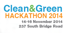 Clean & Green Hackathon 2014