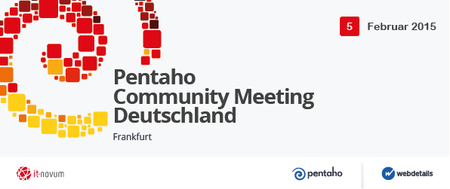 Pentaho Community Meeting Deutschland