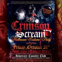 Crimson Scream Halloween Costume Party