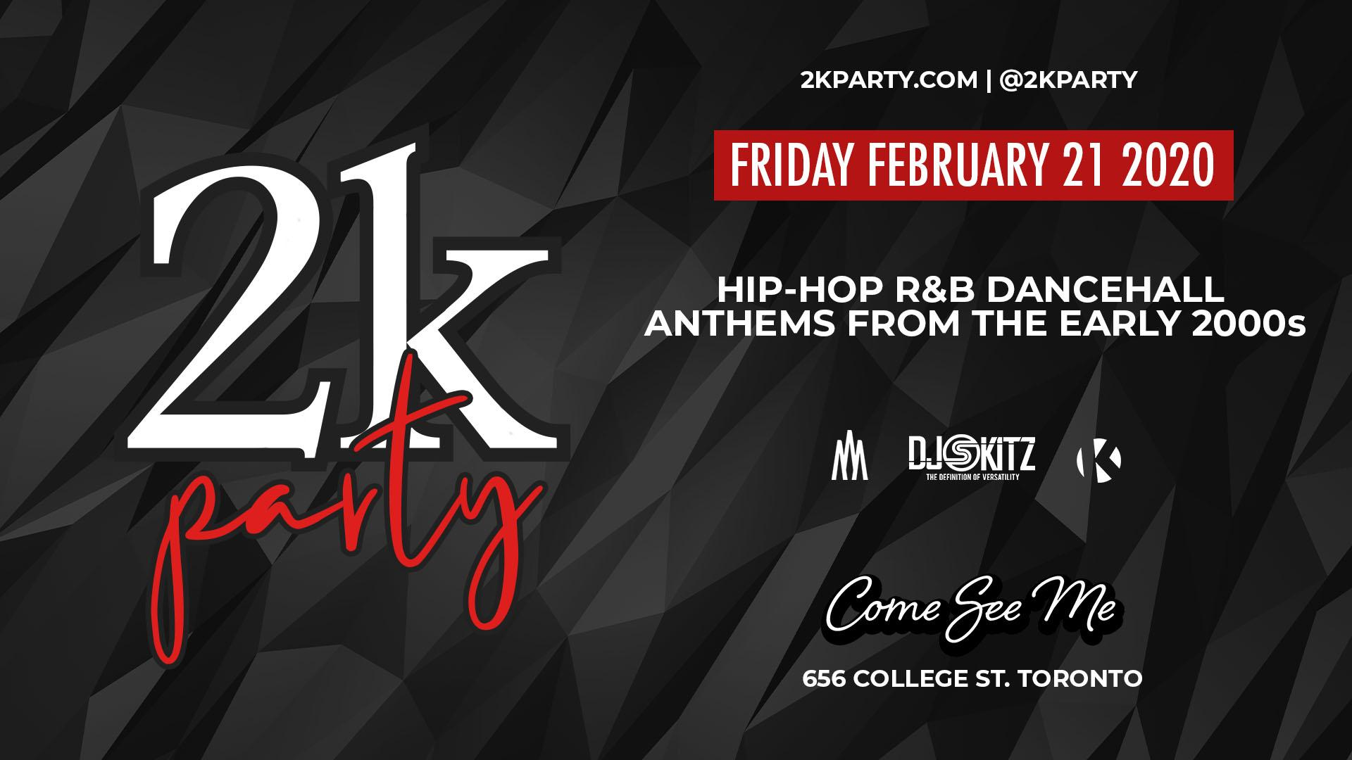 2K Party - Hip Hop Anthems of The Early 2000s
