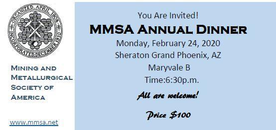 MMSA Annual Dinner 2020