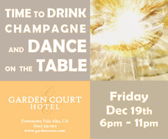 Time To Drink Champagne and Dance on the Table/SOLD...
