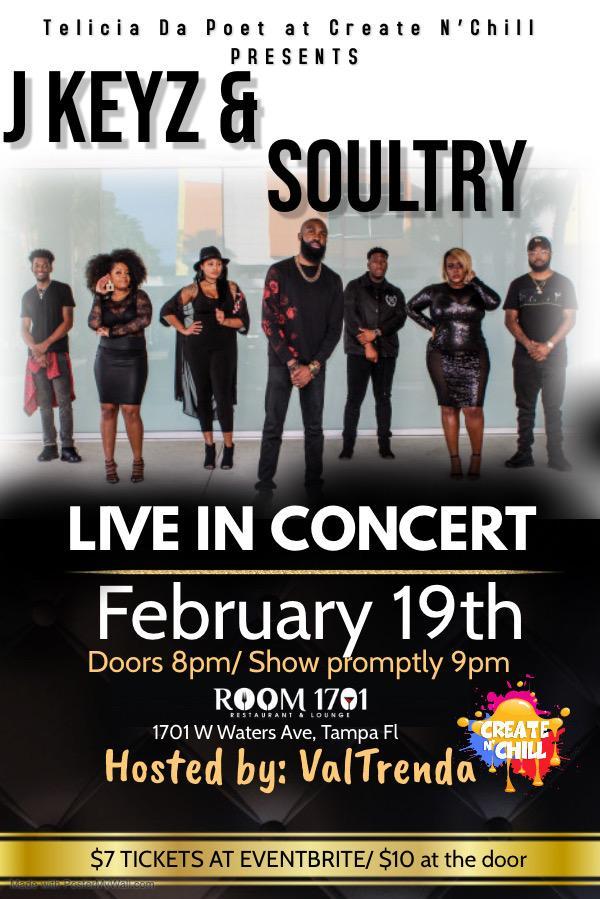 JKeyz & Soultry Concert