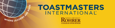 Toastmasters of Rowan Meeting