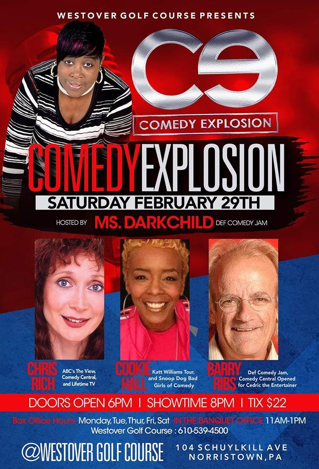Comedy Explosion at Westover Golf Club