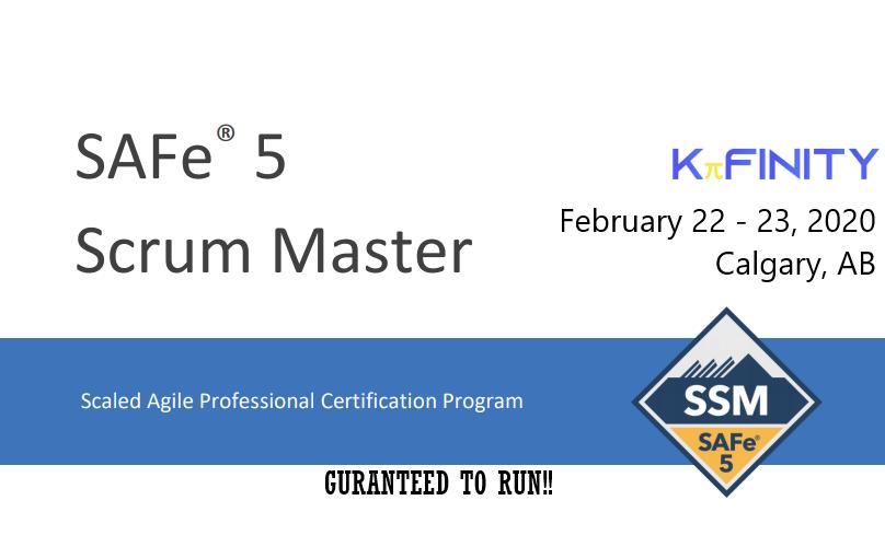 Scrum Master - SAFe® 5.0 - Calgary