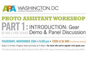 APA|DC's Photo Assistant Workshop, Part 1:...