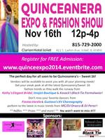 Quinceanera - Sweet 15/16 Expo & Fashion Show
