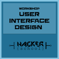 User Interface Design Workshop - 4 e 5 Nov.