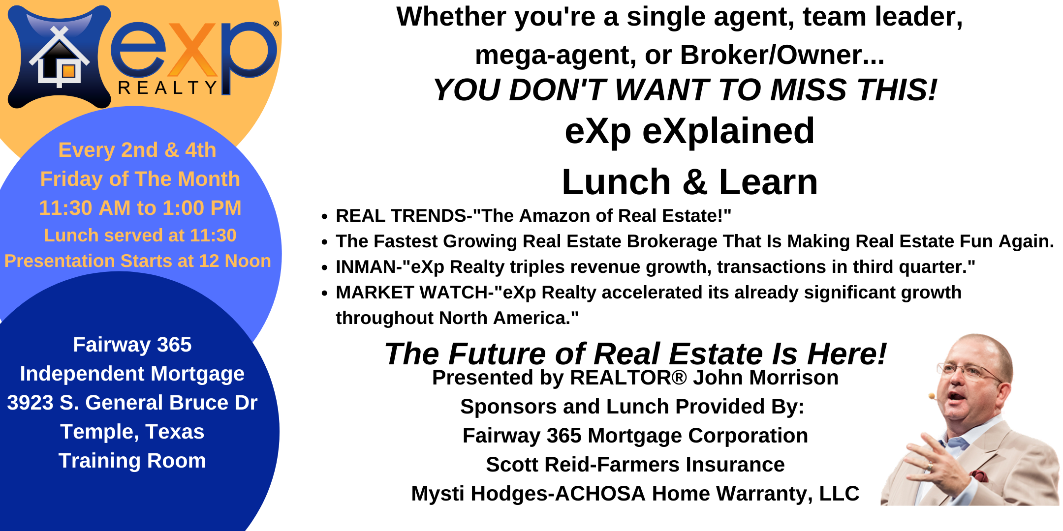 eXp Realty eXplained Lunch & Learn