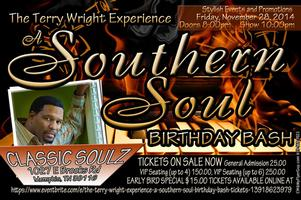 THE TERRY WRIGHT EXPERIENCE - A SOUTHERN SOUL BIRTHDAY...