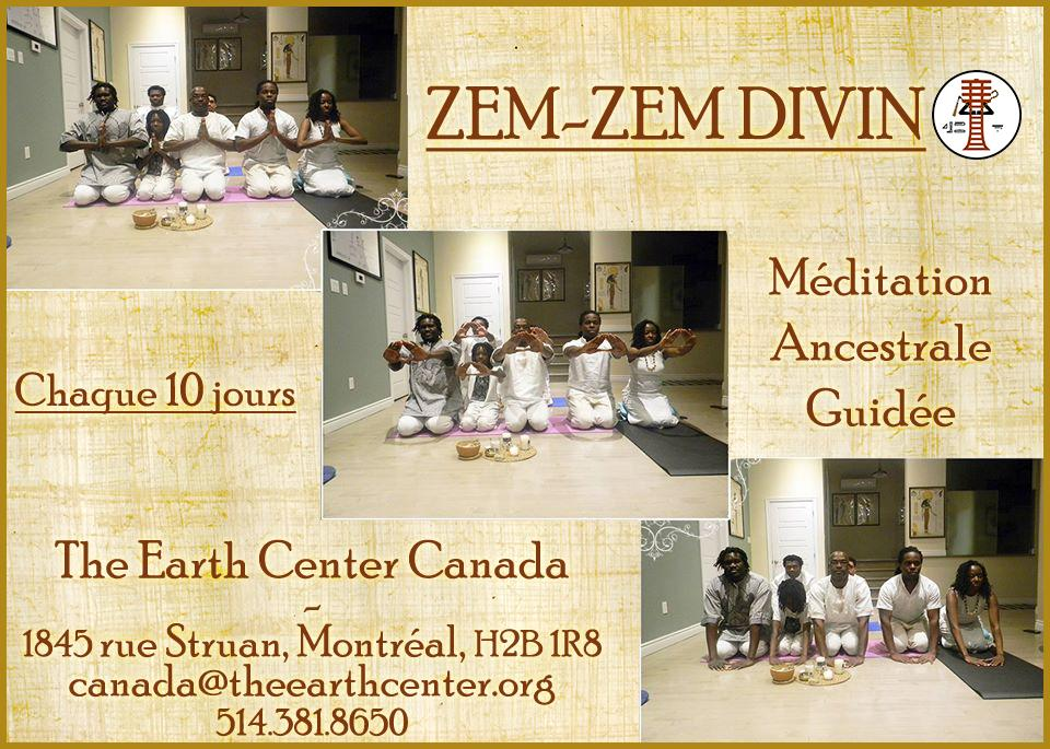 ZemZem Divin - Méditation Ancestrale Guidée d'origine Égyptienne Antique