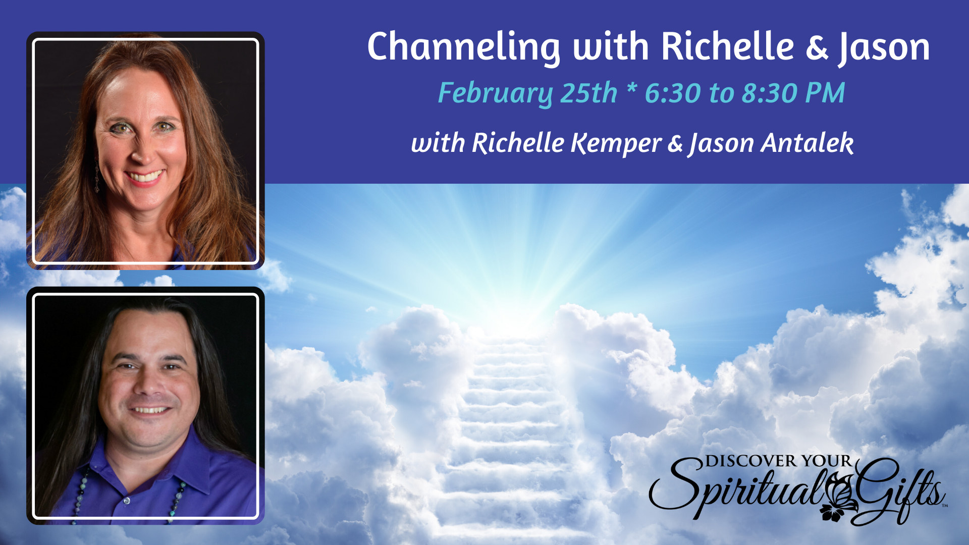 Channelling with Richelle & Jason