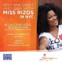 Miss Rizos NYC Meet and Greet