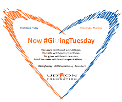#GivingTuesday -- [ UDiON Annual Giveaway ]