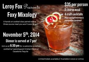 Foxy Mixology 2 - A Hands on Experience!