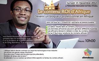 """[Akendewa-SessionN#13]:""""Le contenu ROI d'Afrique"""""""