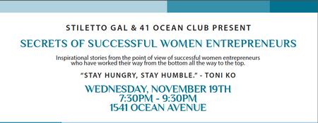 Stiletto Gal & 41 Ocean Present: Secrets of Successful...