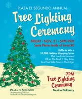 Plaza El Segundo Christmas Tree Lighting Ceremony