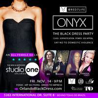 ONYX Black Dress Party