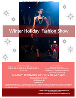 Winter Holidays Fashion Event