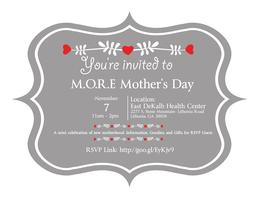 Baby Love: M.O.R.E. Mother's Day