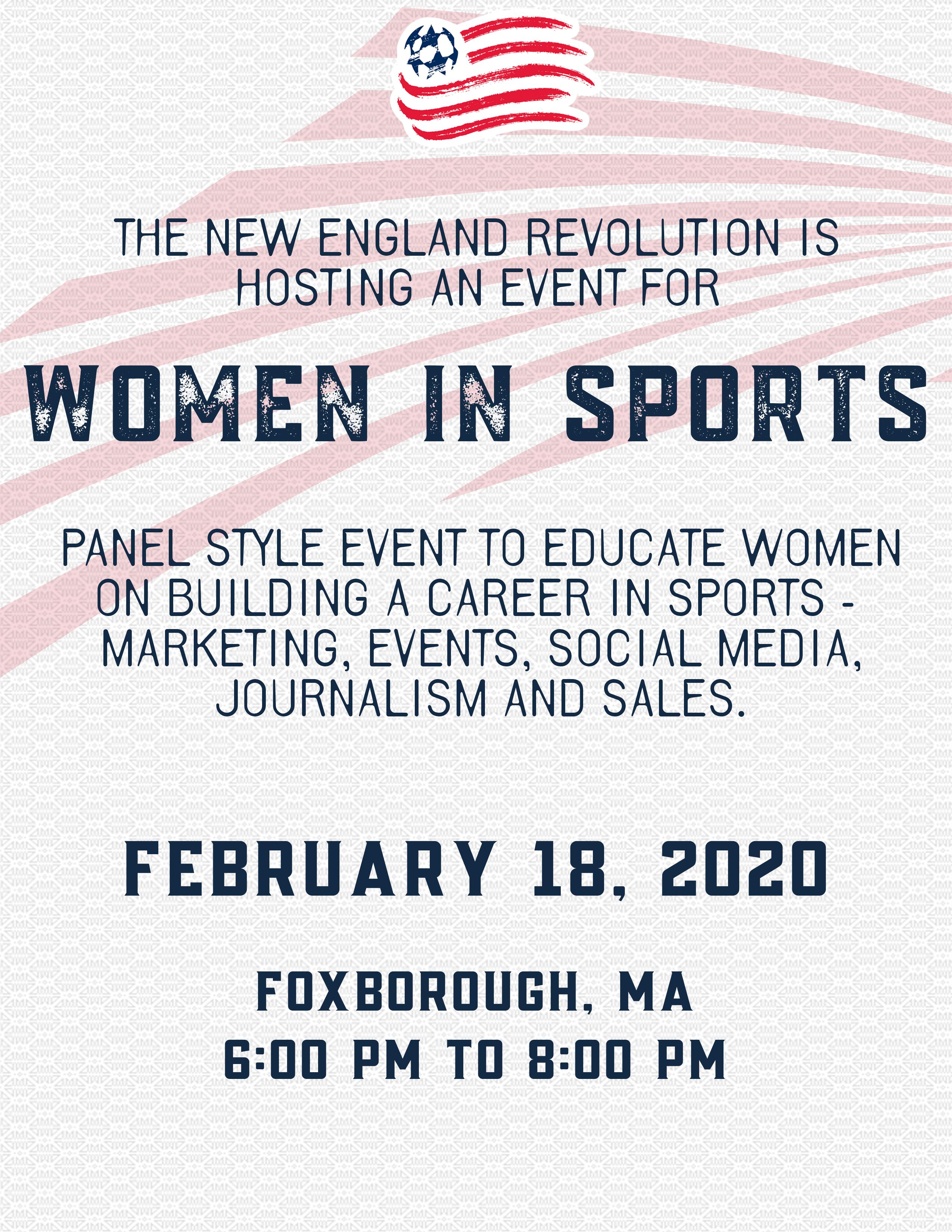 Women in the Sports Industry