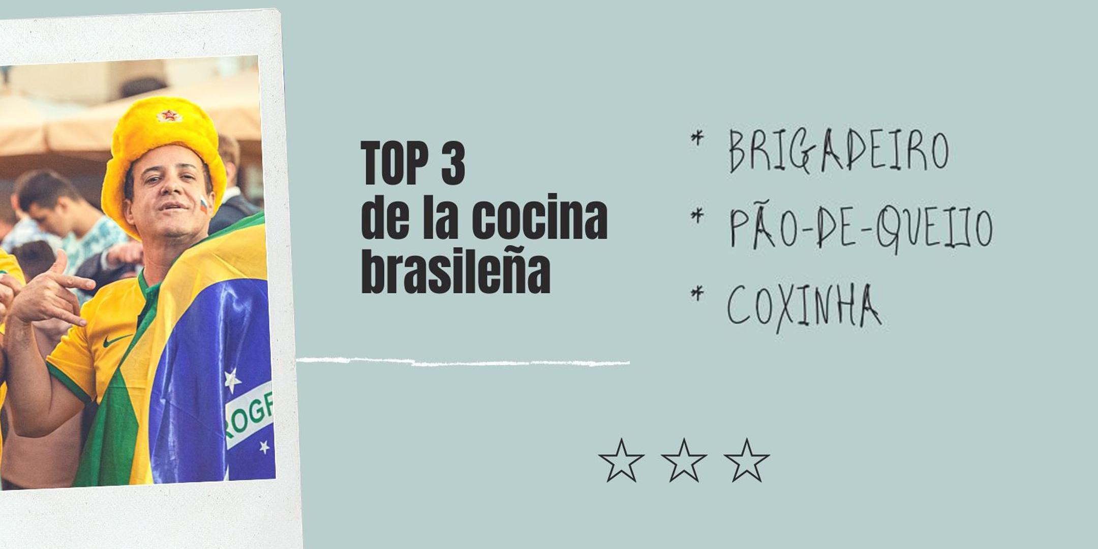 cocina brasileña, brigadeiro, pão-de-queijo y coxinha