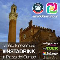 Aperitivo #INSTADRINK in Piazza del Campo a Siena