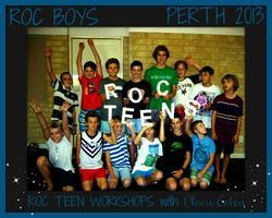 BOYS ROC READY workshop (ages 10-13) Geraldton