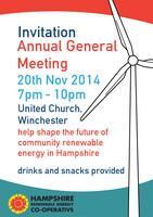 Hampshire Renewable Energy Co-op AGM