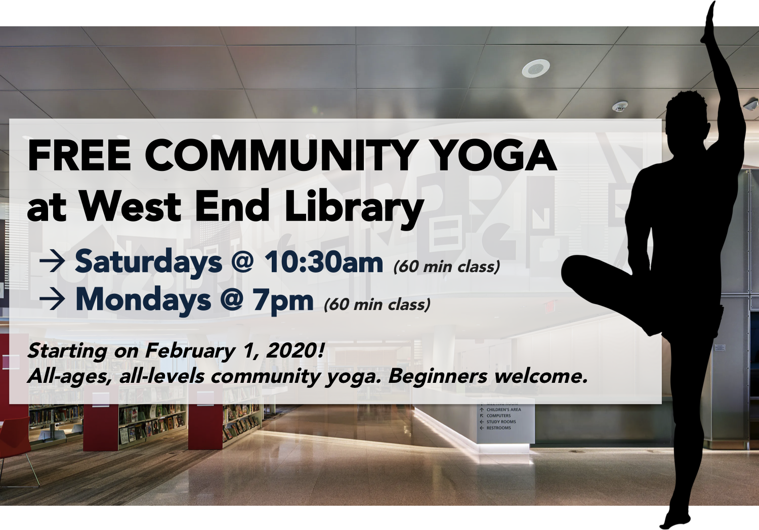 Free Community Yoga @ West End Library (DC)