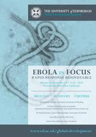 Rapid Response Roundtable on Ebola