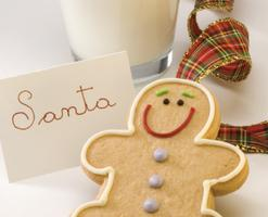 Milk and Cookies with Santa