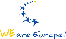 We are Europe! e.V. logo