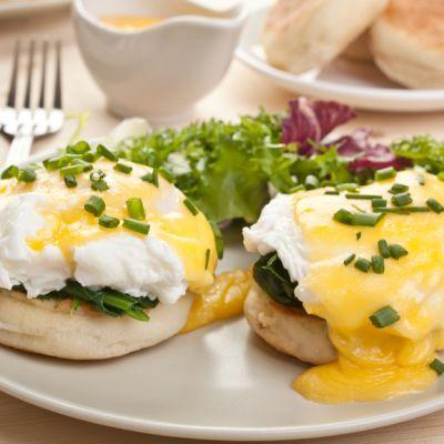 A Brunch Cooking Class! Eggs Benedict FROM SCRATCH, optional yoga before!