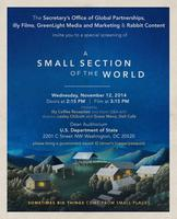 A Special Screening of A Small Section of the World