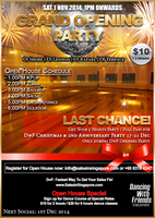 DANCING WITH FRIENDS 1 NOV 2014- OPENING PARTY - NEW...
